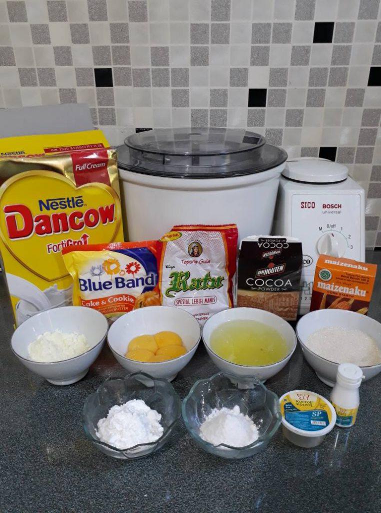 bahan Marmer Cake Premium van Houten by Wahyu Nursanti Suratman
