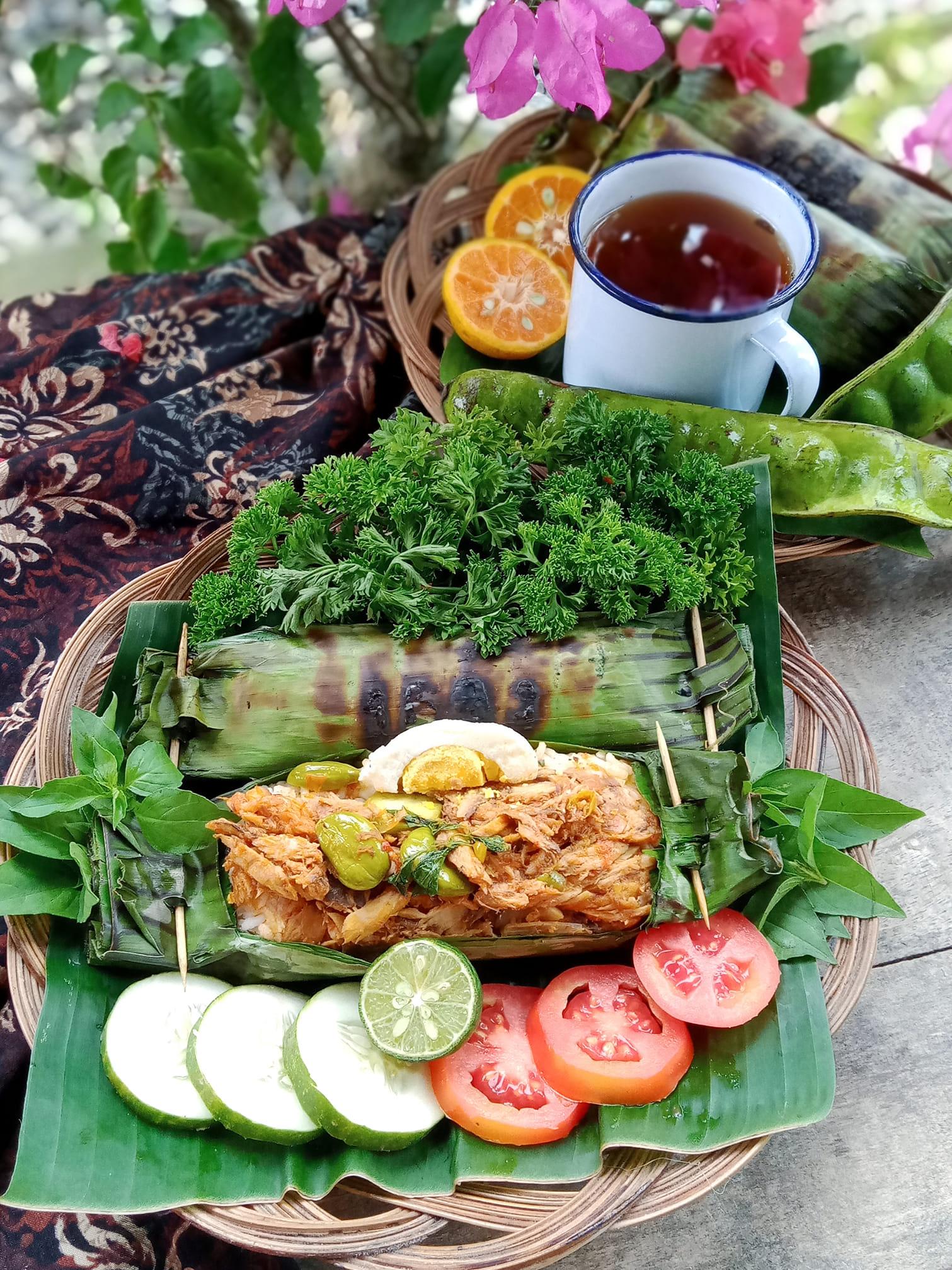 NASI BAKAR TONGKOL by Windu Dwi Jayanti