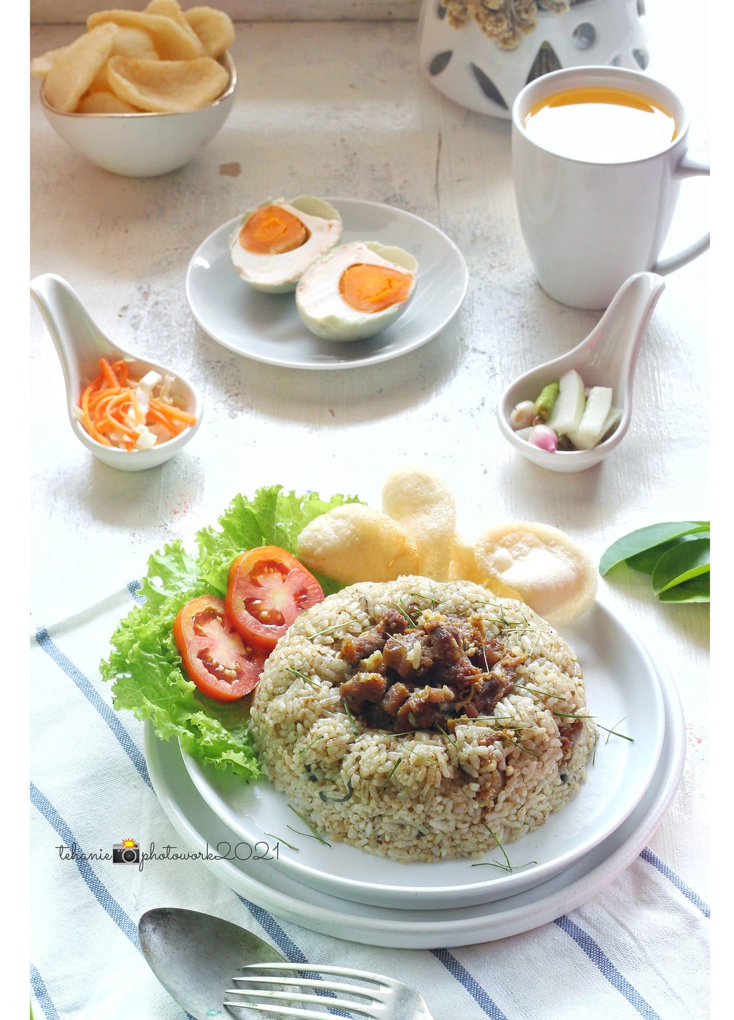 Resep nasi goreng rawon by Teh Anie
