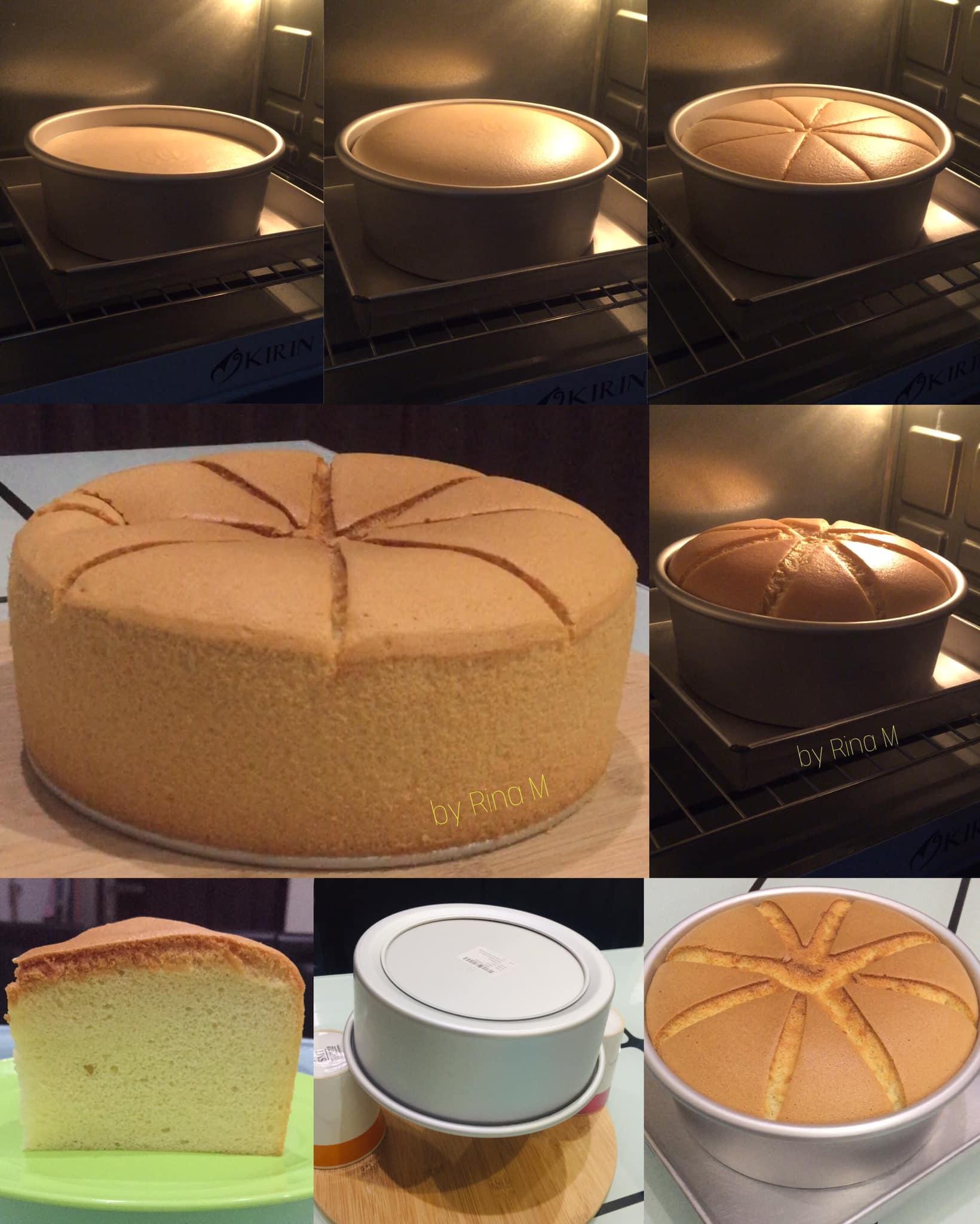 Vanilla Chiffon Cake by Rina M