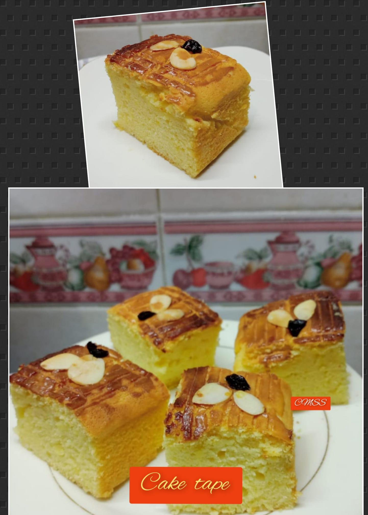 resep CAKE TAPE by Catharina Maria Sri Sumarti