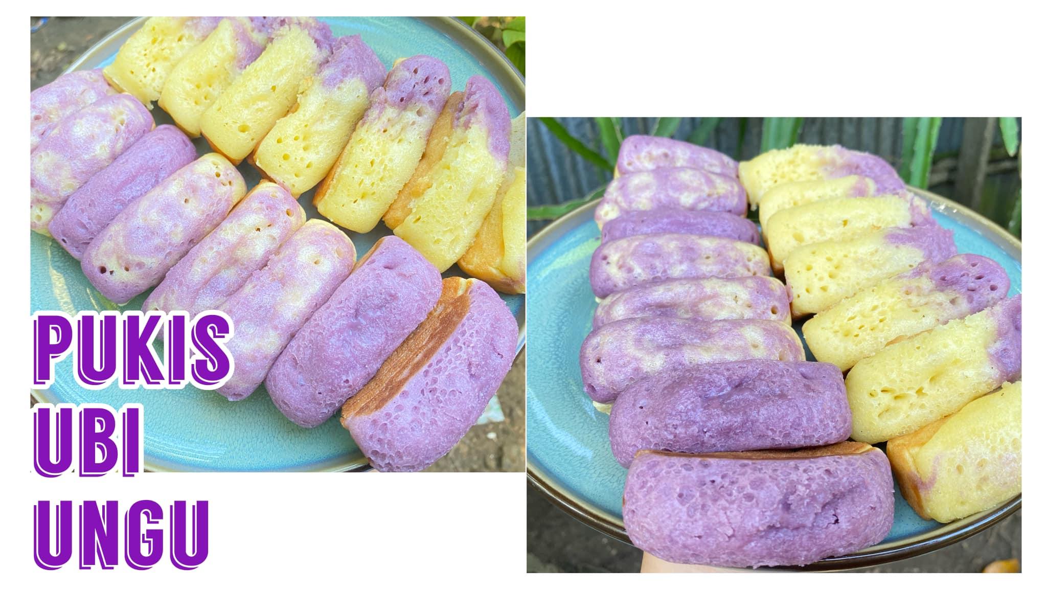 PUKIS ubi ungu super lembut by Fitriatul Muniroh