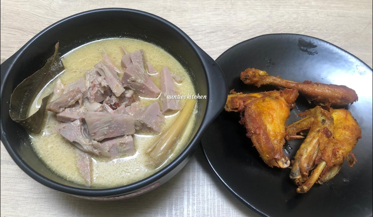 belajar masakan Jawa Gudeg kuah khas Banjarnegara by Auntiec