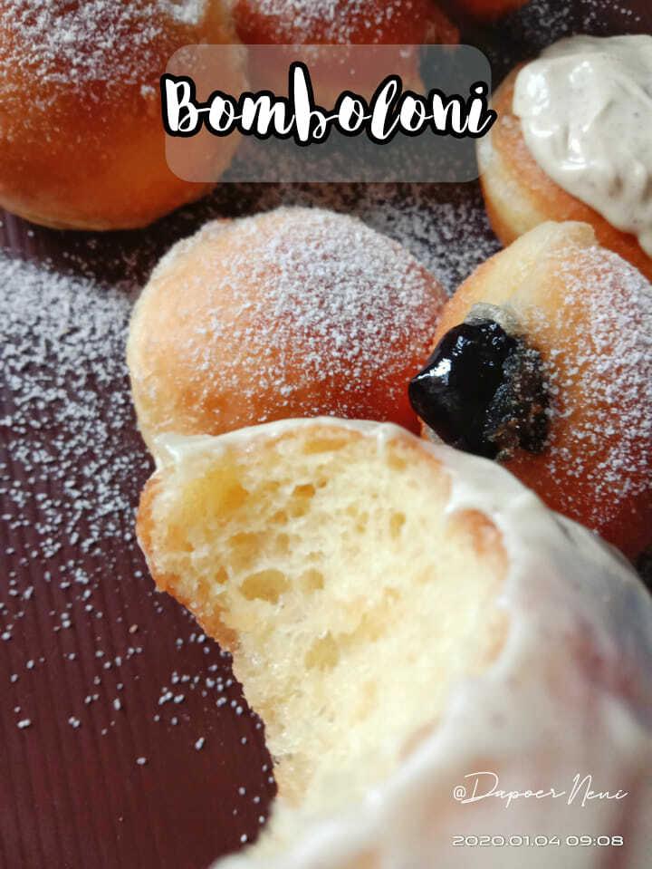 cara membuat roti yang santai Bomboloni Metode Autolysis by Neni Suheni 2