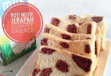 kreasi roti tawar unik dan istimewa GIRAFFE BREAD by Emilda Sari