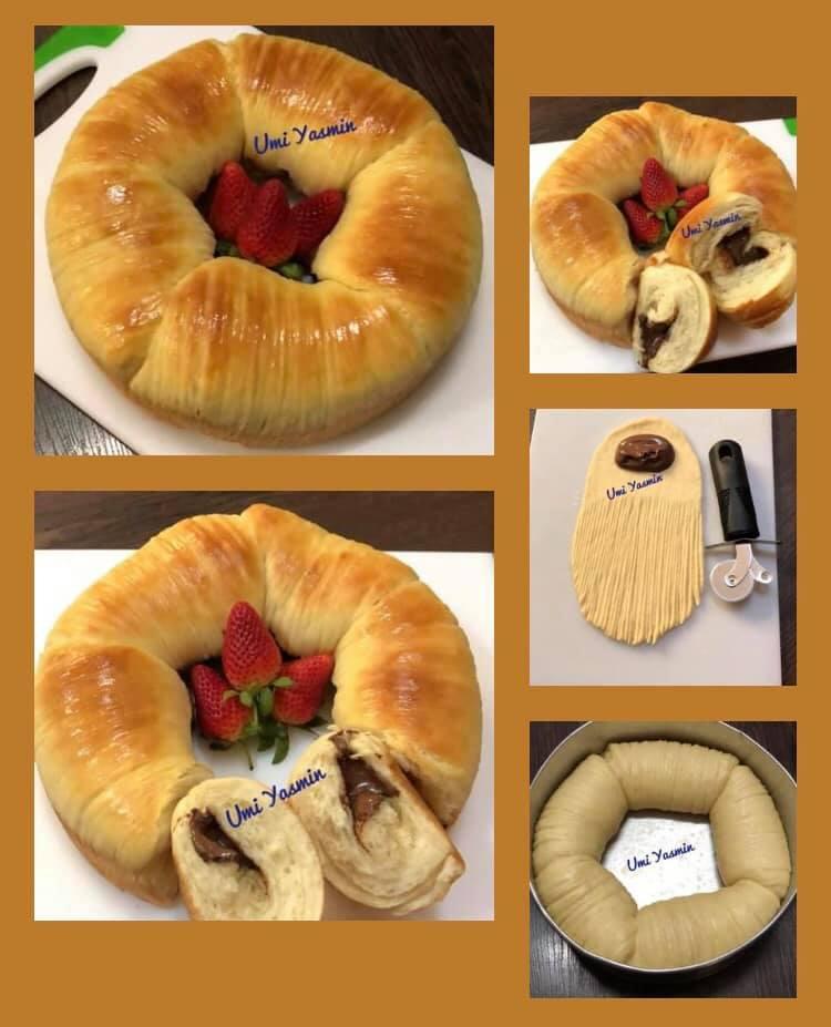 lagi viral Killer Soft Bread versi Wool Roll Bread by Fah Umi Yasmin