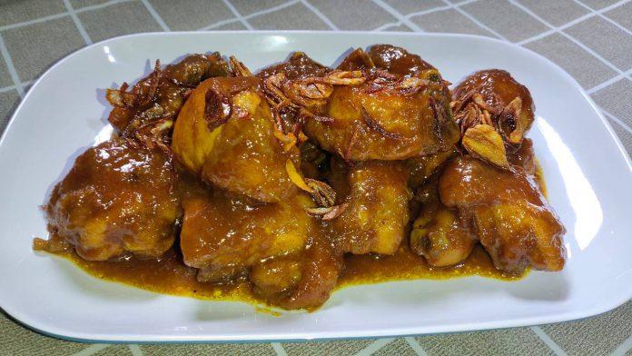 masakan ayam sederhana dan simple SEMUR AYAM ENAK by Tata