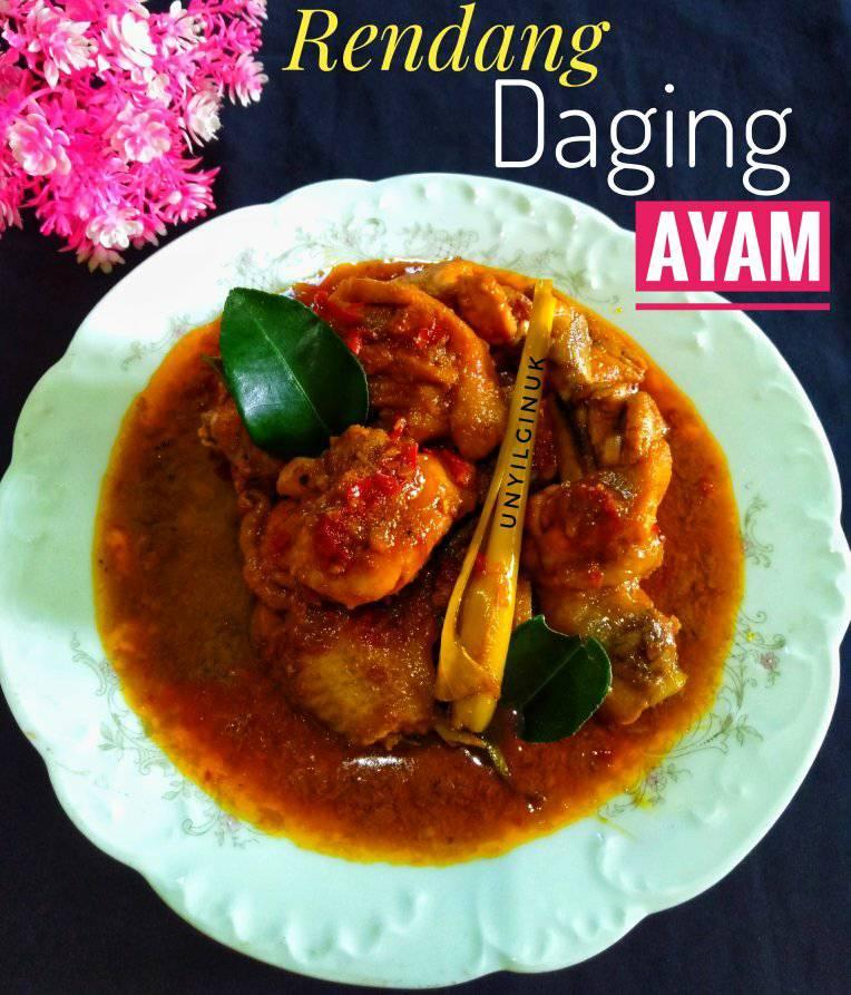 masakan terenak Rendang Daging Ayam by Annansya Aina 2