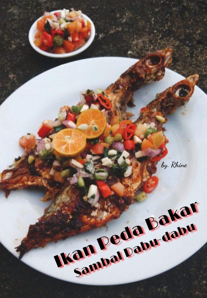memasak Ikan Peda Bakar Sambal Dabu-dabu by Rhinecha