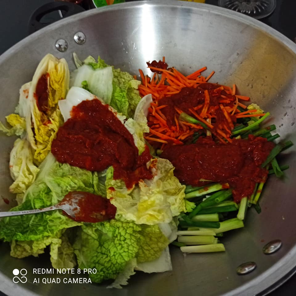 most healthy food kimchi korea homemade by Ummu Shofiyyah 1