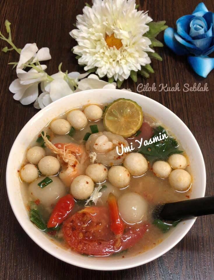 resep Cilok Kuah Seblak by Fah Umi Yasmin