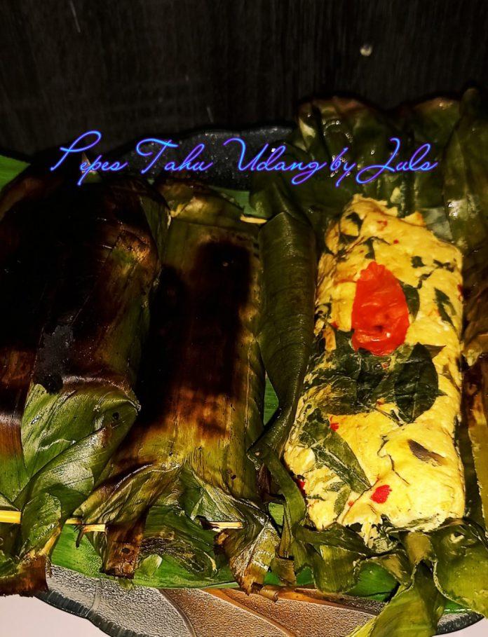 resep PEPES TAHU UDANG by Julie Darwis
