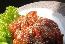 resep dan cara membuat Ayam Goreng Korea by Kiki Wahyudi