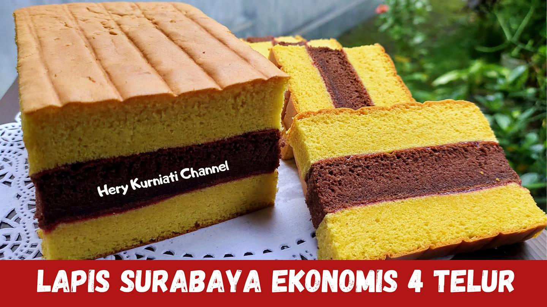 resep dan cara membuat Lapis Surabaya by Hery Kurniati