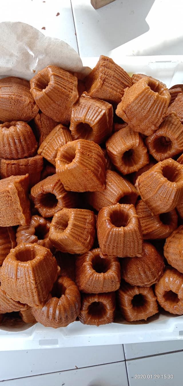 resep lama Bolu kukus karamel by Nurjannah