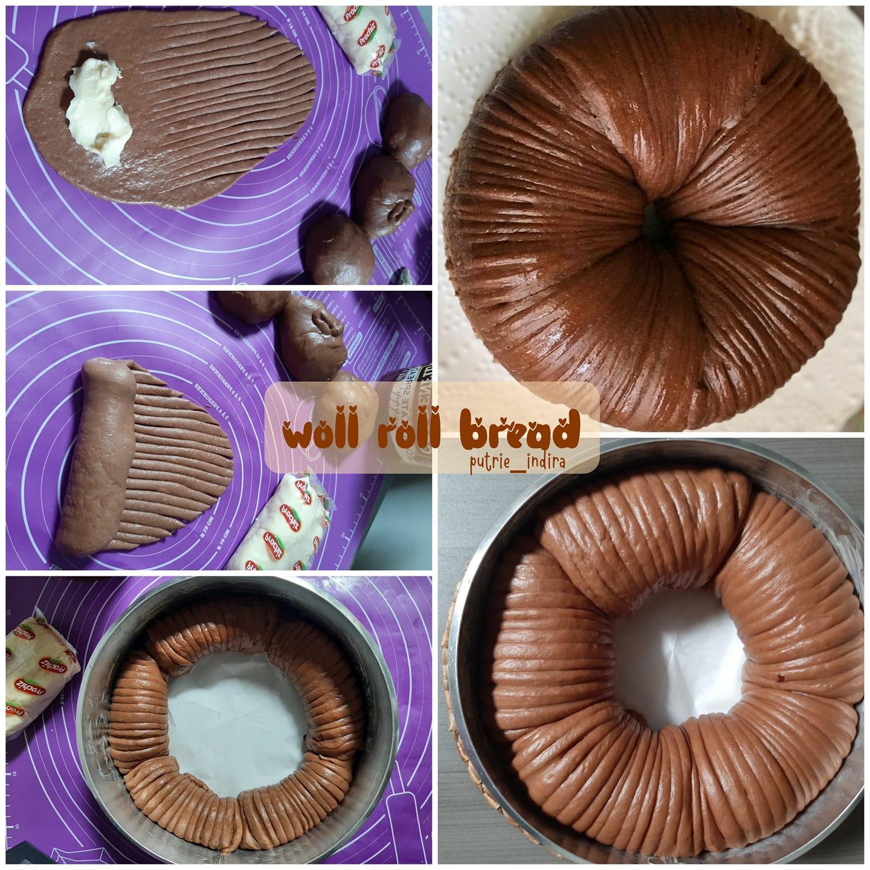 roti yang lagi hits WOLL ROLL BREAD by Putri Indira
