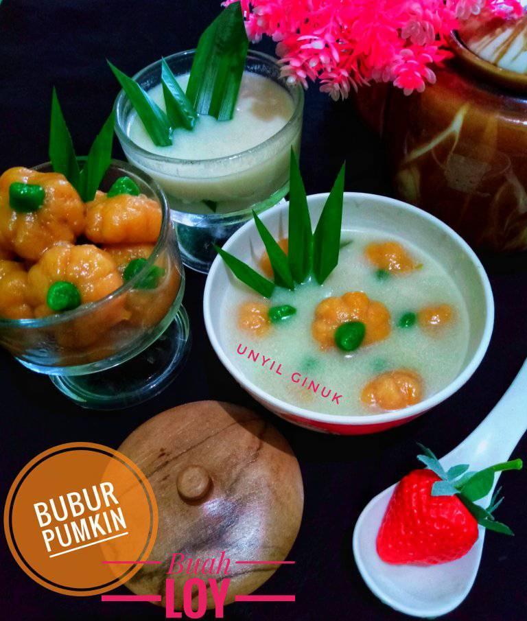 Bubur Pumkin Buah Loy by Annansya Aina 1