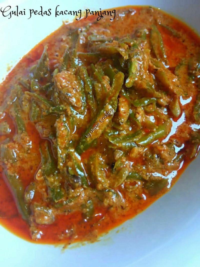 Gulai pedas kacang panjang by Dapurnya Anggie