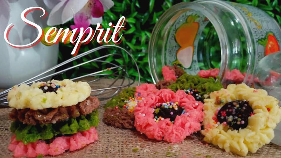 KUE SEMPRIT WARNA-WARNI by Dapur Ummu Fatih 1
