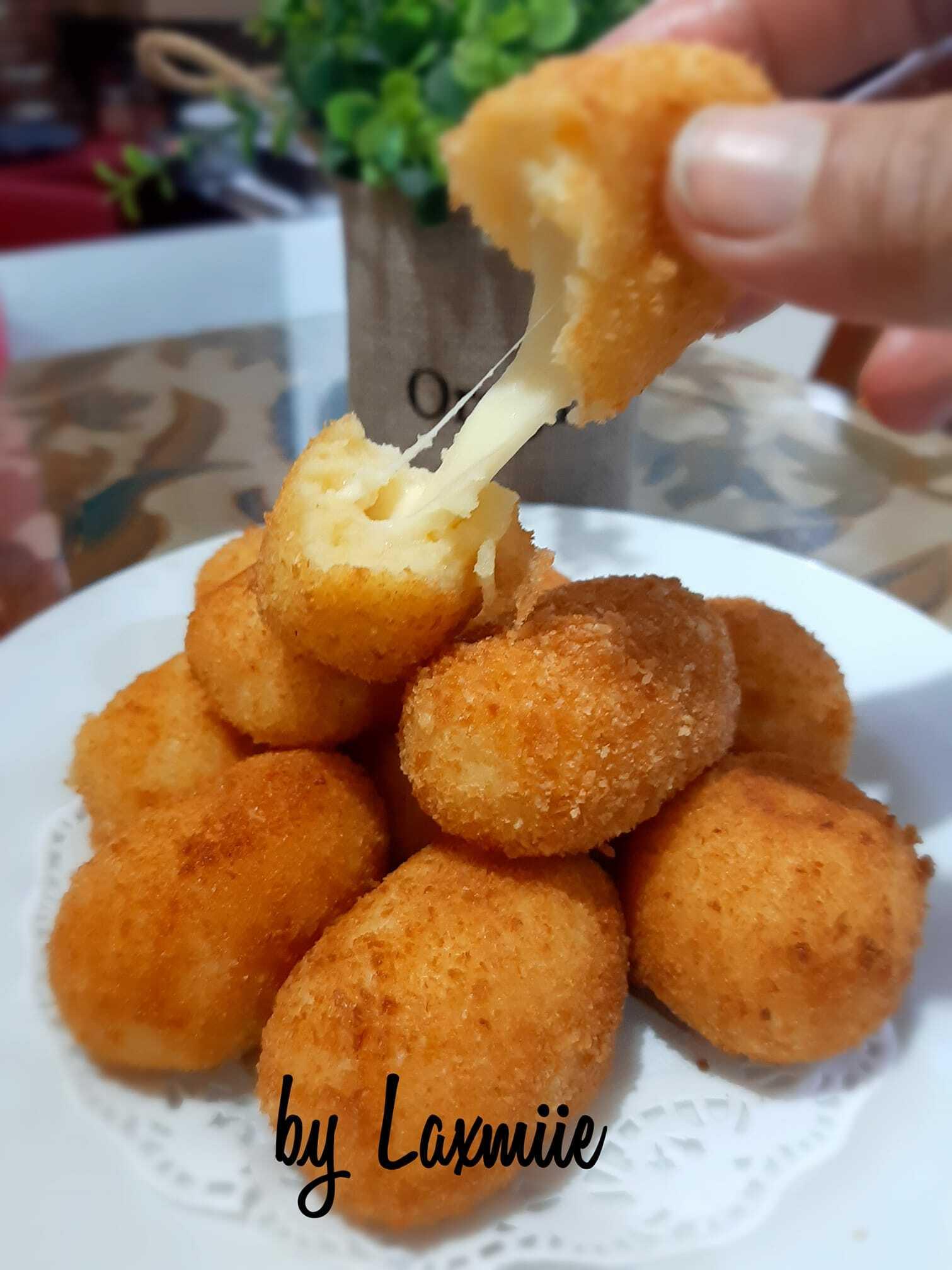 Still Potato Flakes Cheese Croquette Recipe By Cheese Croquette Recipe