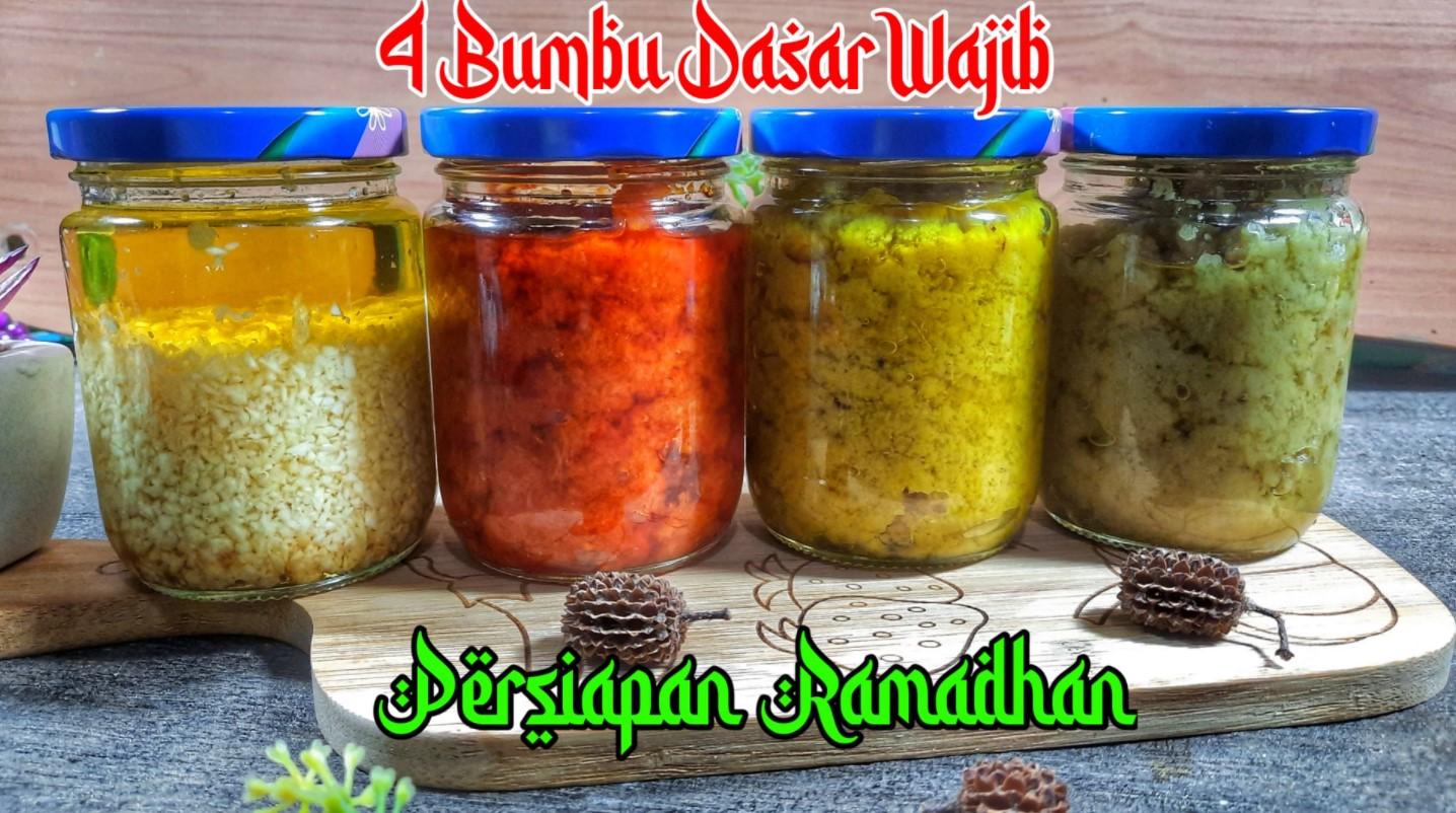 Persiapan sebelum ramadhan Bumbu dasar by Sri Harmanita