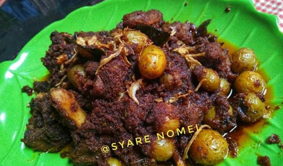 Rendang daging padang yang super enak by SyareNomel Binti Noer