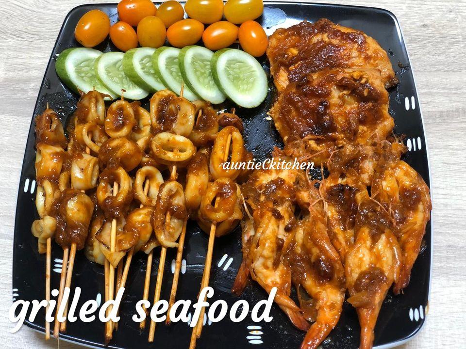 Seafood panggang Teflon ala Jimbaran by AuntieC AuntieC