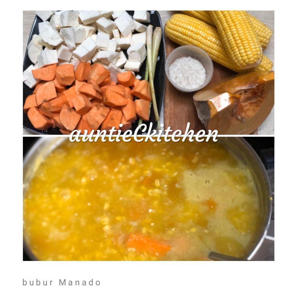 manis alami Bubur Manado by AuntieC AuntieC