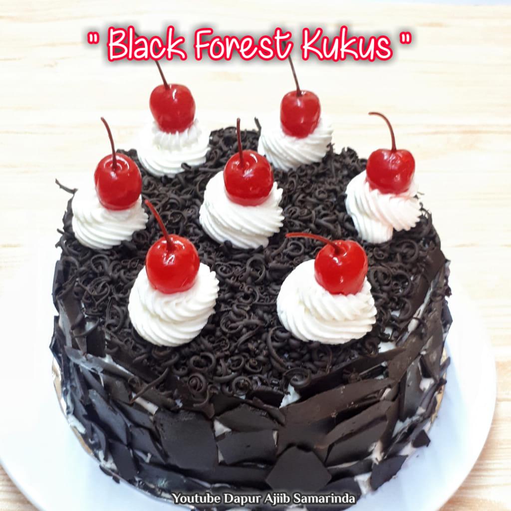 berbagi resep Black Forest Kukus by Erna Kemall
