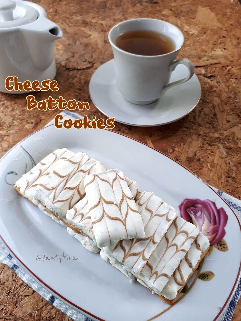 hidangan dihari Raya nanti CHEESE BATTON COOKIES by Yanty Fira
