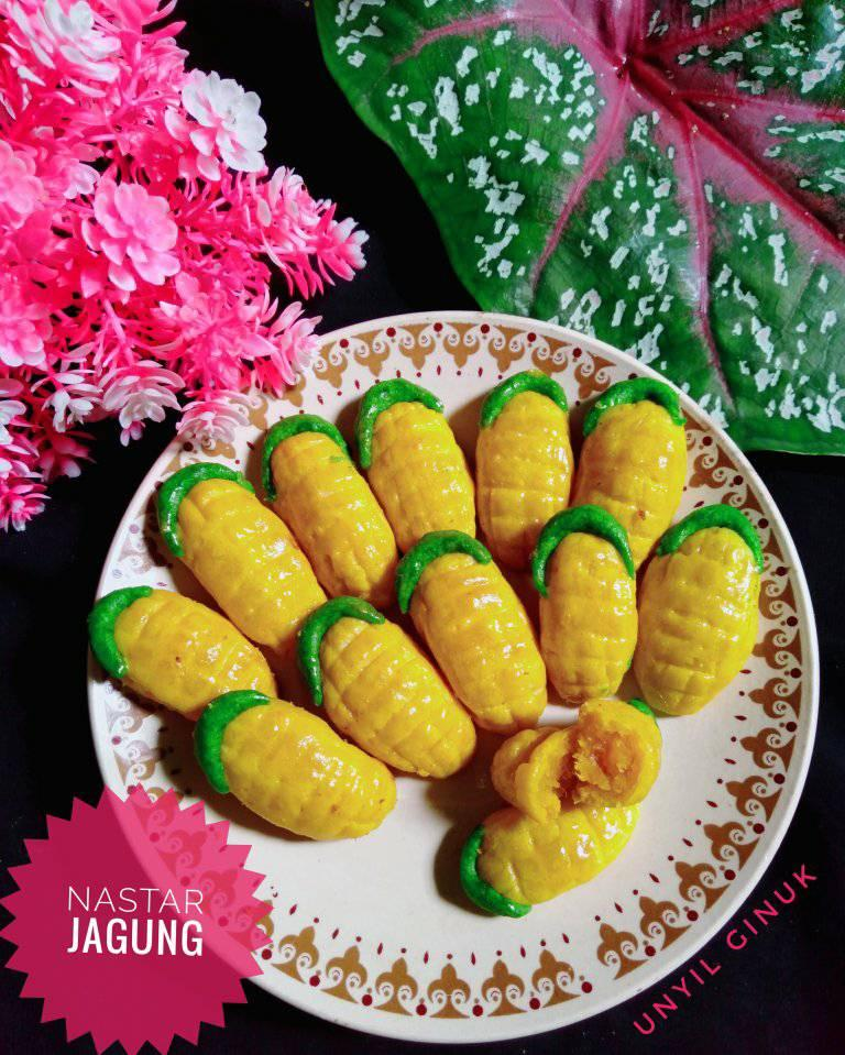 kreasi camilan Nastar Jagung by Annansya Aina 5