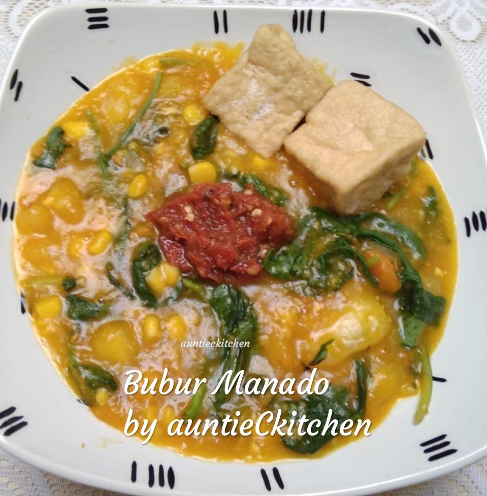 manis alami Bubur Manado by AuntieC AuntieC 1