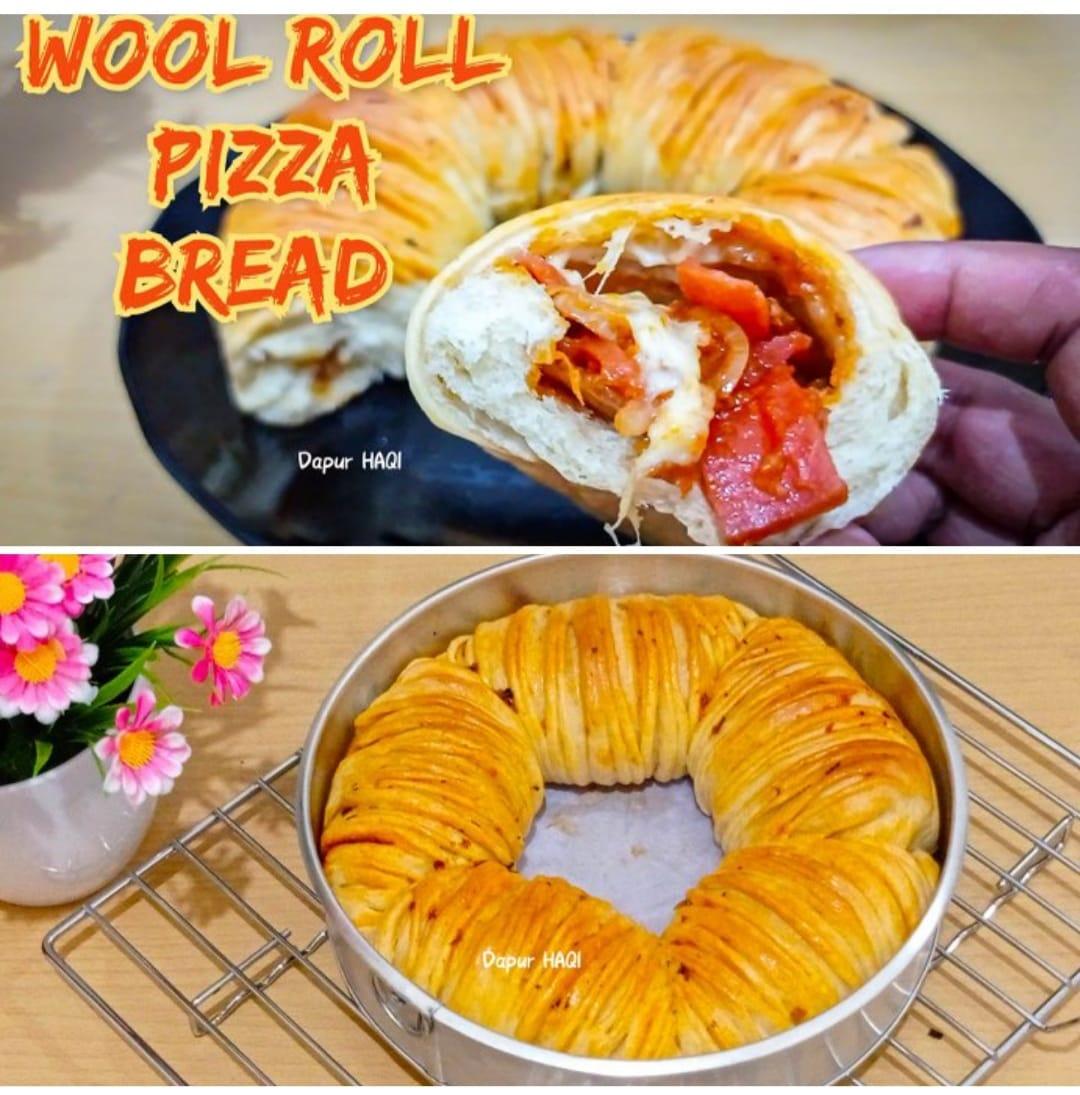 masih viral dan Belum bosan Wool Roll Pizza Bread by Yula Es Em