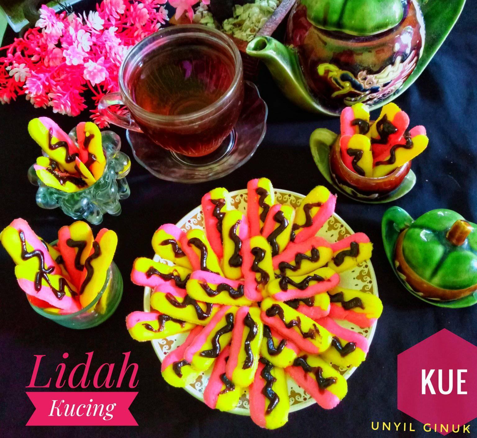 membuat kue kering Kue Lidah Kucing by Annansya Aina 3