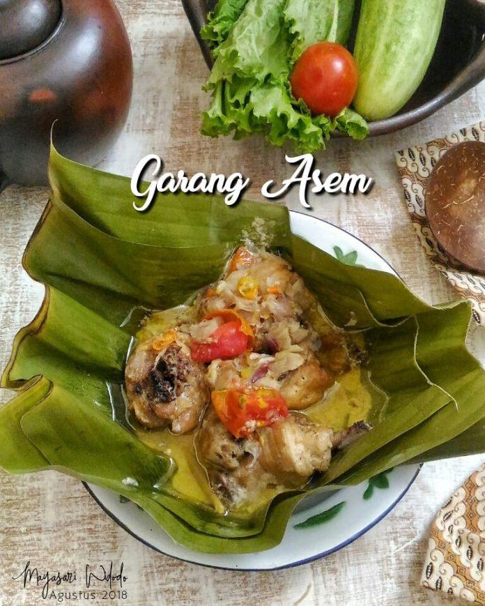 menu favorite nya pak bojo Garang Asem by Mayasari Widodo