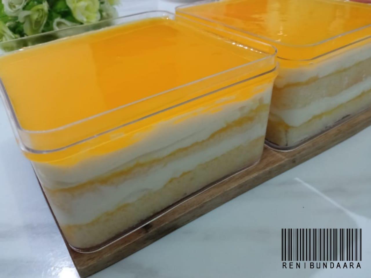 mewah Orange Custard Dessert by Reni Dwi Arti Agustina