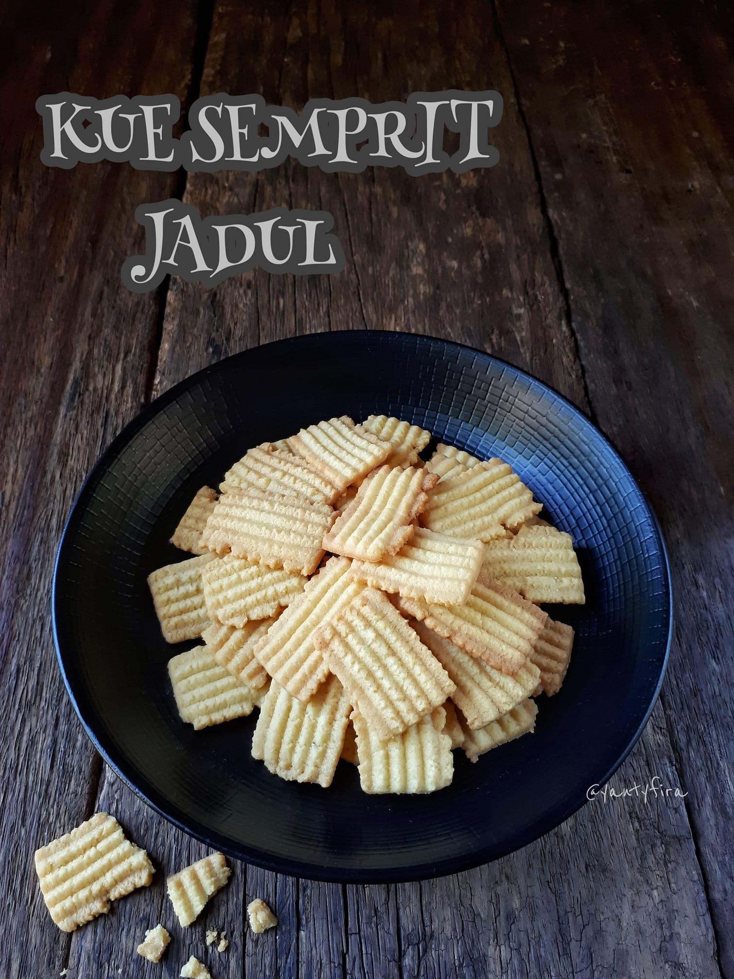 resep kue kering atau cookies KUE SEMPRIT JADUL by Yanty Fira