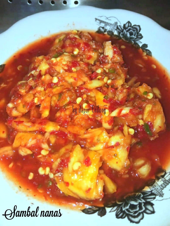 seger-seger pedas Sambal nanas by Dapurnya Anggie