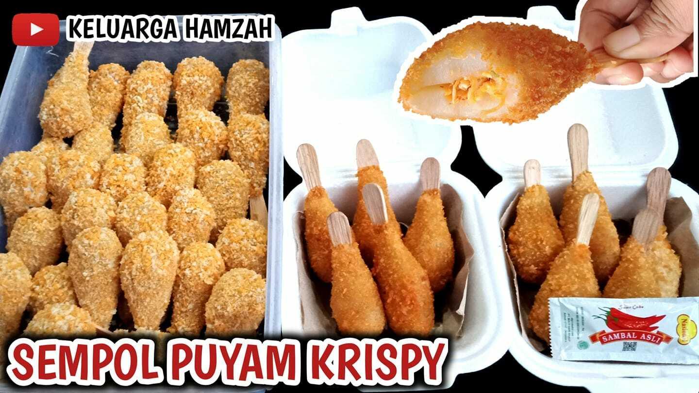 Sempol Paha Ayam Krispy by Prisilia Hamzah