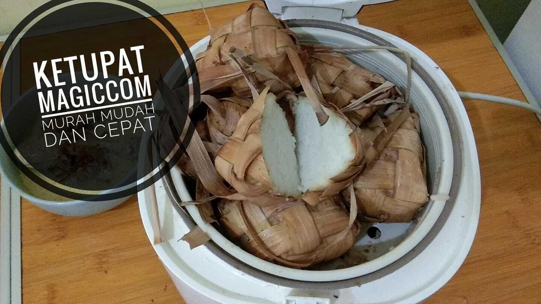 bikin ketupat pakai magic com atau rice cooker by Wildiyah Neila Baroroh