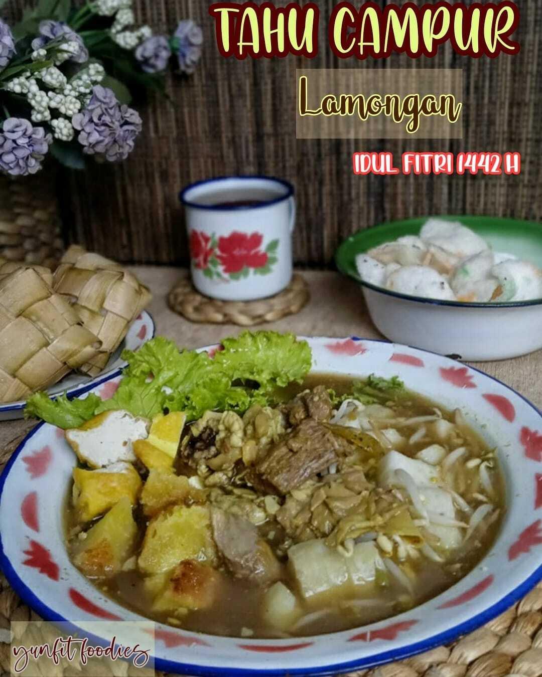 masakan khas Jawa Timur tahu campur lamongan by Yuniarti Nur Fitria