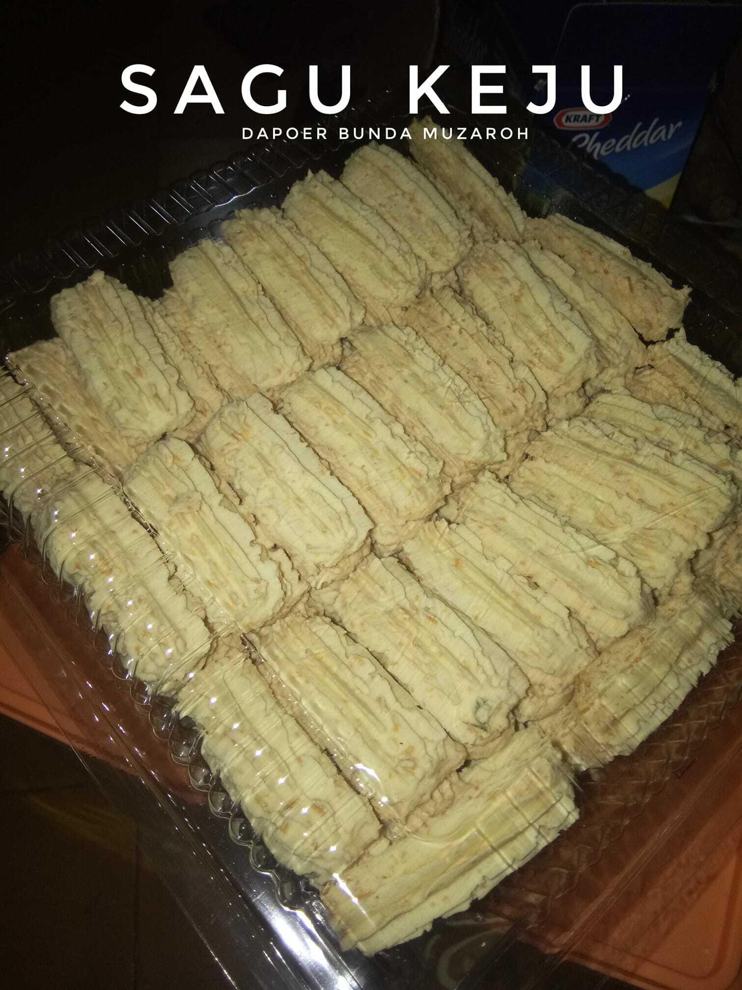persiapan kue kering pengisi toples SAGU KEJU by Bunda Muzaroh
