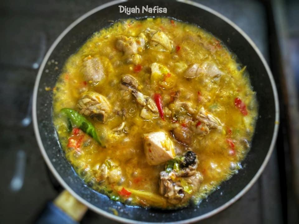 rasanya super pedas dan gurih Ayam Rica Kemangi by Diyah Nafisa 4
