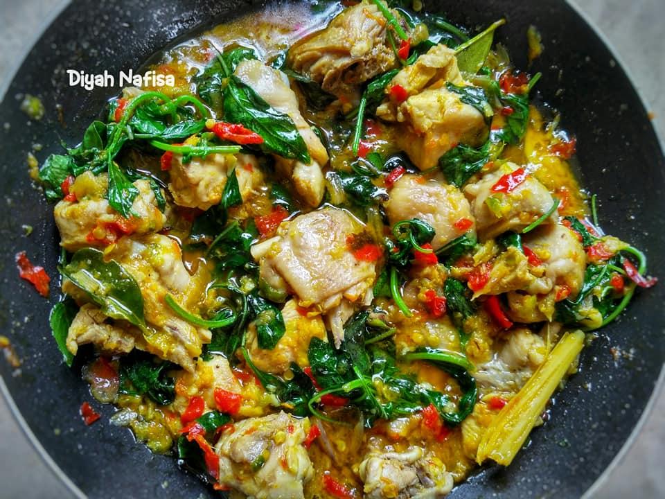rasanya super pedas dan gurih Ayam Rica Kemangi by Diyah Nafisa 1