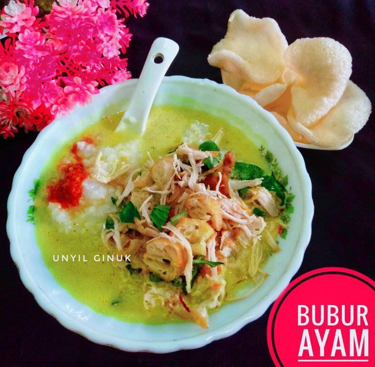 Ada sisa nasi belum basi bikin BUBUR AYAM by Annansya Aina