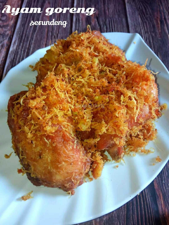 Ayam goreng serundeng by Dapurnya Anggie