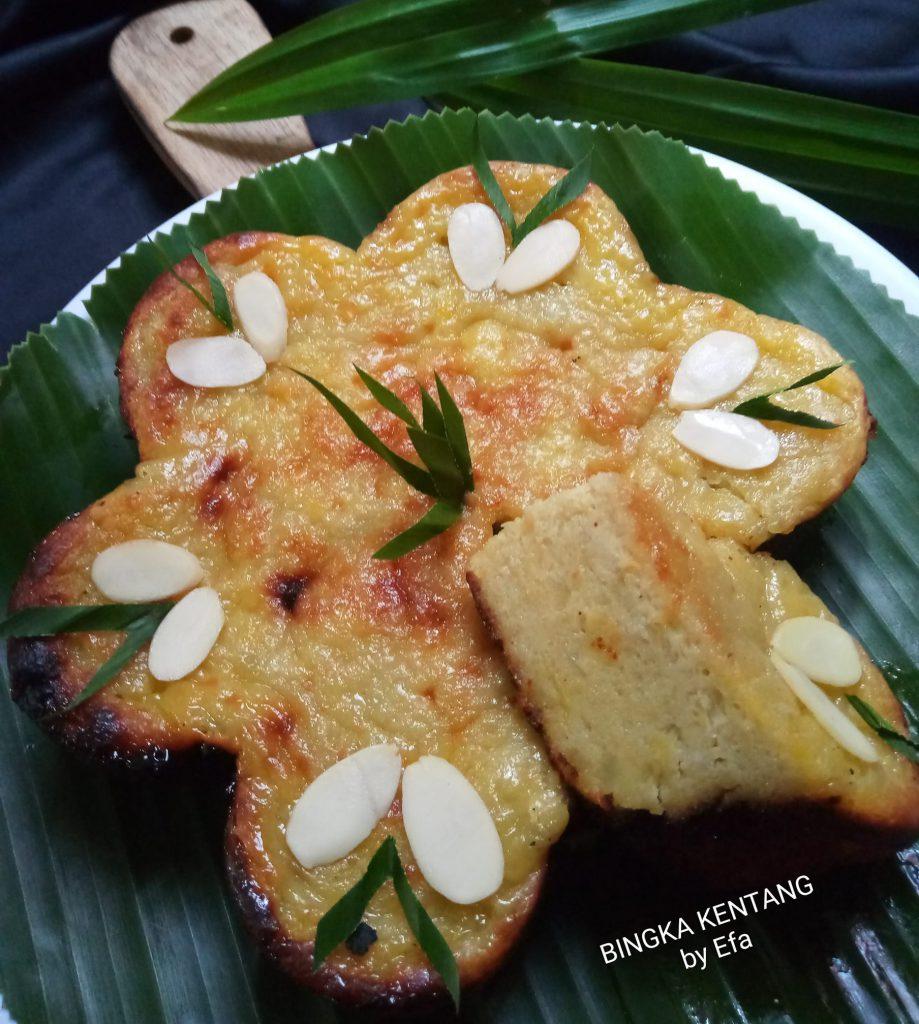 BINGKA KENTANG BAKAR by Efa Wati