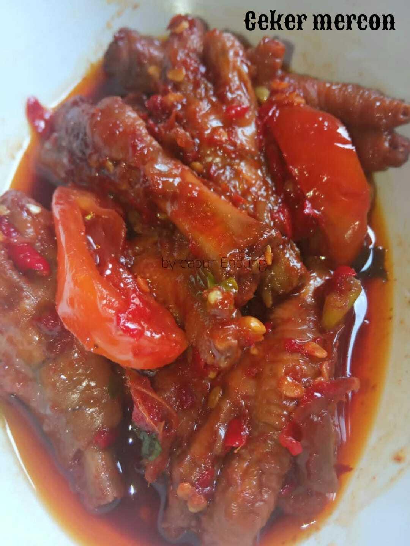 Ceker mercon by Dapurnya Anggie