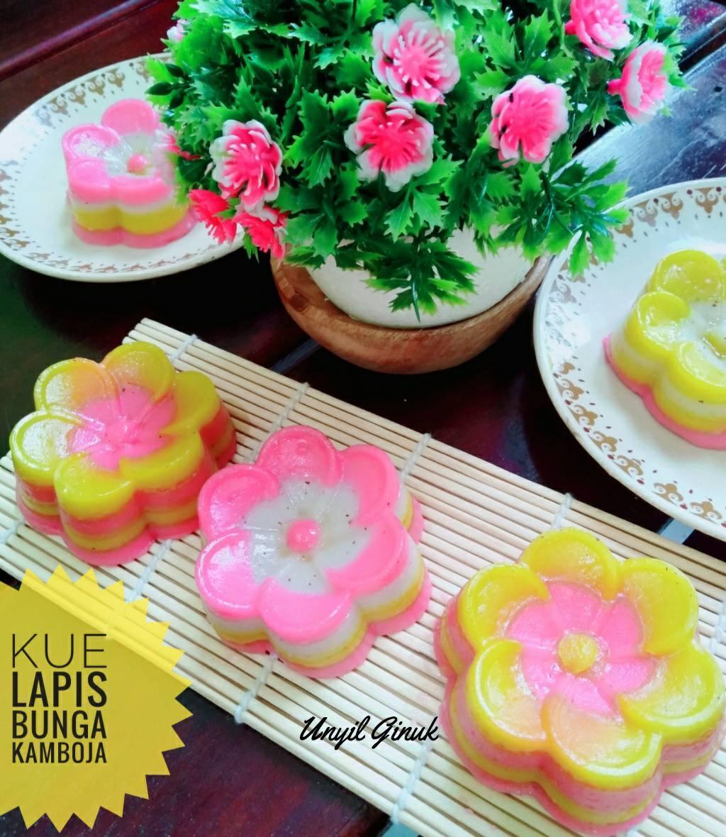 Kue Lapis Bunga Kamboja by Annansya Aina