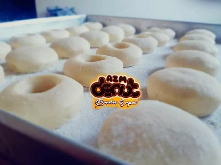 Membuat donut dengan dough kecil hasil besar by Nabil Hedrah 5